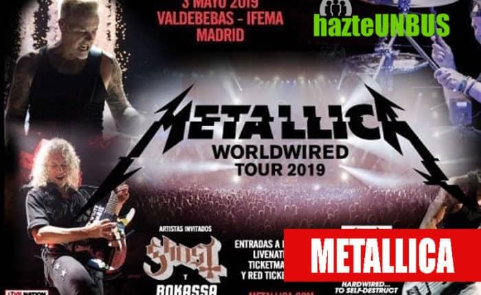 Viaje a Madrid al Concierto de Metallica
