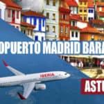 Viaje en autobús desde Madrid Barajas a León y Assturias