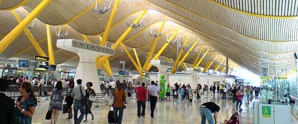 Viajes en Bus al Aeropuerto de Madrid Madrid-Aeropuerto-Adolfo-Suárez-Barajas