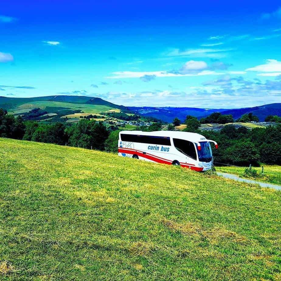 Curin Bus alquiler de autocares y microbuses en Oviedo Asturias medio ambiente