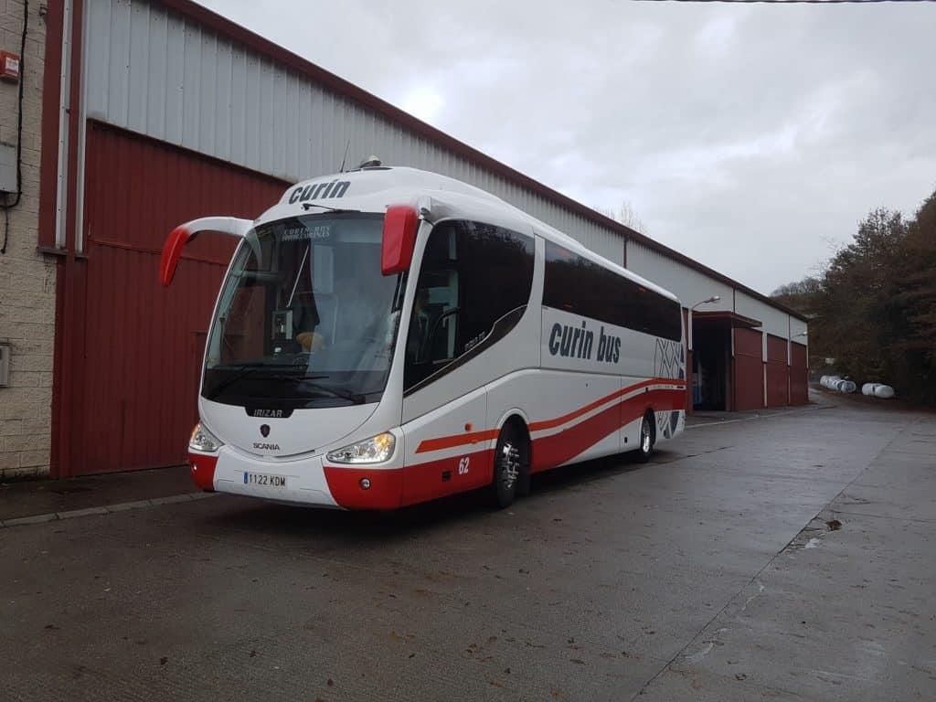 Curin Bus alquiler de autocares y microbuses en Oviedo Asturias instalaciones