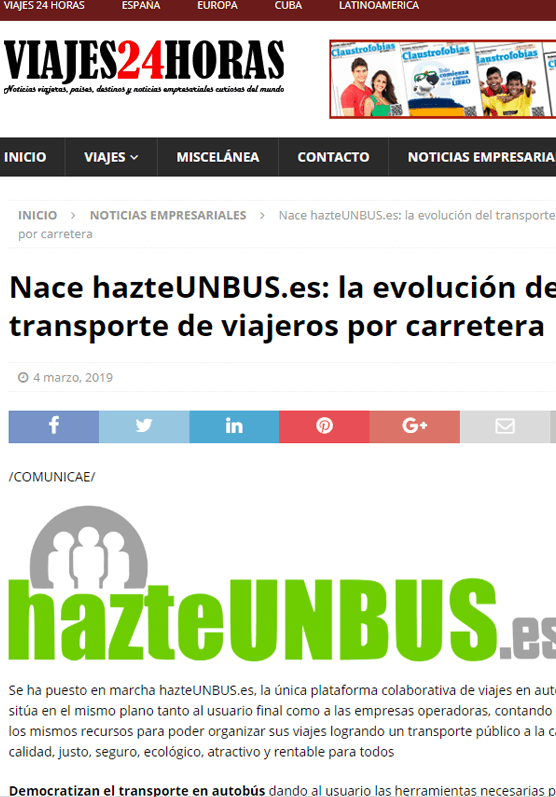 hazteunbus.es - Excursiones, visitas, traslados, circuitos, viajes y experiencias en grupo con autobús.