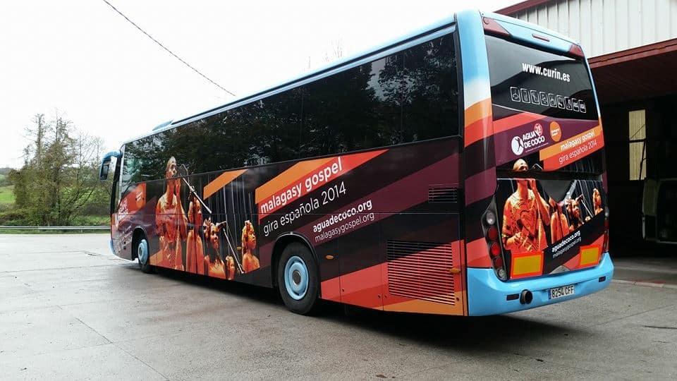 Personalizamos tu autobús. Curin Bus, alquiler de autocares y microbuses en Oviedo Asturias.