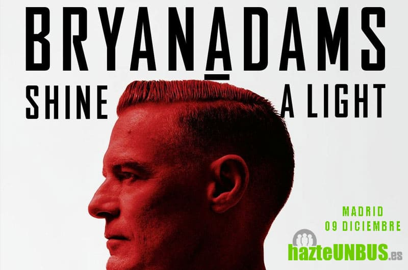 Viaje en bus concierto Bryan Adams