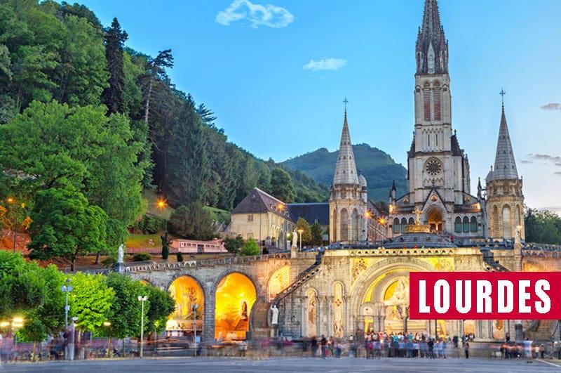 Viaje organizado en autobús a Lourdes desde Asturias