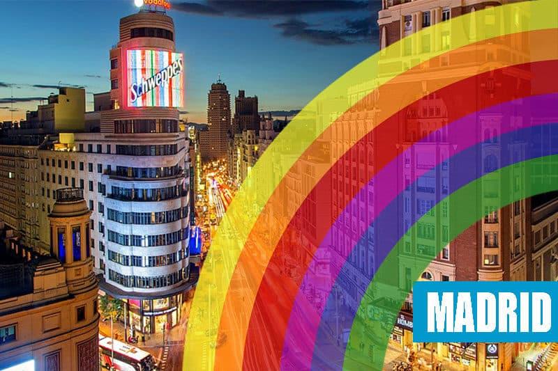 Viaje a Madrid Orgullo Gay 2019
