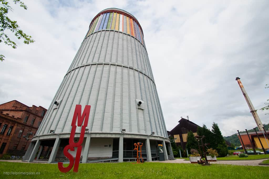 Visita colegios Museo de la Siderurgia Asturias