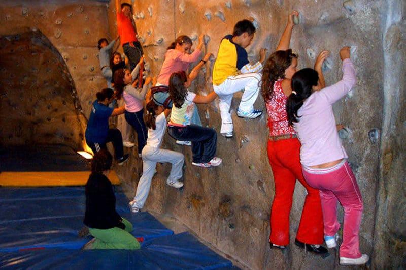 Visita colegios Rocódromo Jove Gijón