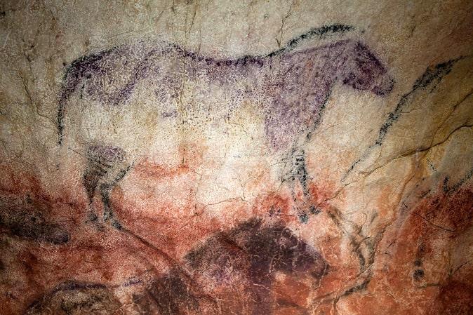 Arte rupestre en Asturias. Cueva de Tito Bustillo