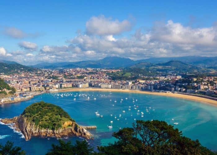 Viaje organizado en autobús a la San Sebastián desde Asturias